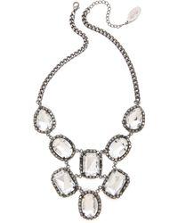 Adia Kibur - Crystal Statement Necklace - Lyst