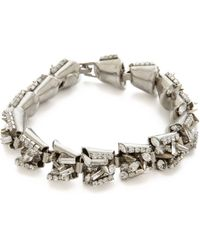Erickson Beamon The Shining Spike Crystal Bracelet - Lyst