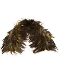 Jamin Puech | Mirza Feather Scarf | Lyst
