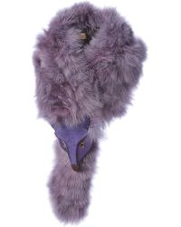 Jamin Puech - Fox Detail Feather Scarf - Lyst