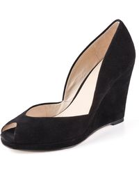 Kors by Michael Kors | Vail Suede Wedge Court Shoes | Lyst