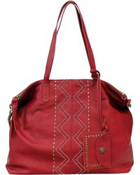 Lucky Brand - Satucket Leather Tote Bag - Lyst