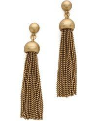 Marc By Marc Jacobs - Big Tassel Drop Earrings - Lyst
