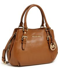 MICHAEL Michael Kors Bedford Medium Satchel - Lyst