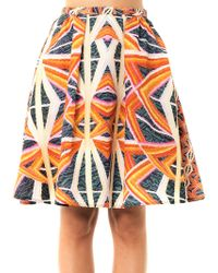 Peter Pilotto Carla Printed Skirt - Lyst