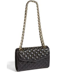 Rebecca Minkoff Affair Mini Quilted Convertible Crossbody Bag - Lyst