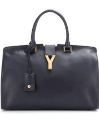 Saint Laurent - Cabas Classique Y Leather Tote - Lyst