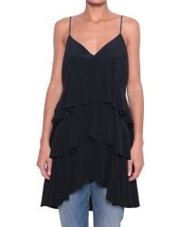 Semi-couture Top Byron Bay Seta - Lyst