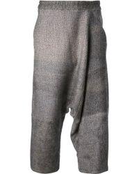 Anntian - Weave Landscape Trouser - Lyst