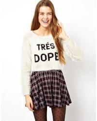 Asos Tres Dope Sweater - Lyst