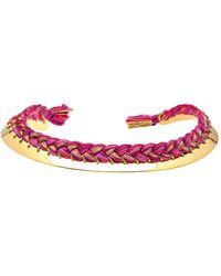 Aurelie Bidermann Copacabana Threaded Necklace - Lyst