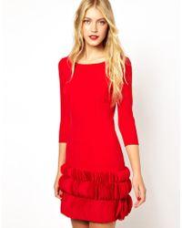 Coast Jazzy Short Dress - Lyst