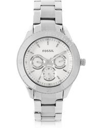 Fossil - Stella Multifunction Stainless Steel Watch - Lyst