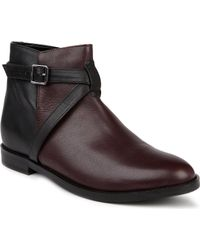 KG by Kurt Geiger Stirrup Leather Ankle Boots - Lyst
