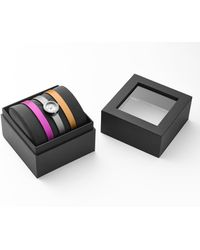 Marc By Marc Jacobs Stainless Steel Logo Watch Box Set - Lyst