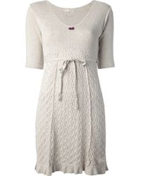 Odd Molly Beige Linnea Dress - Lyst