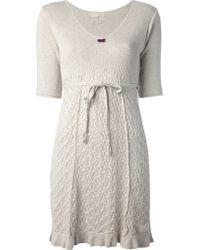 Odd Molly Linnea Dress beige - Lyst