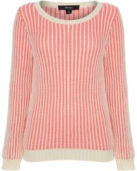 Therapy Chunky Plaited Textured Jumper - Lyst