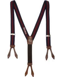 Alexander Olch - Varsity Stripe Suspenders - Lyst