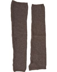 Barneys New York Extralong Fingerless Mittens - Lyst