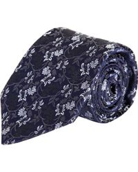 Barneys New York Floral Brocade Tie - Lyst
