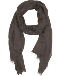 Barneys New York G Fringed Scarf - Lyst