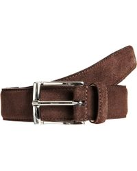 Crockett & Jones Square Buckle Belt - Lyst