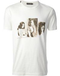 Dolce & Gabbana Monica Bellucci T-Shirt - Lyst