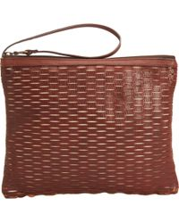Jas MB - Large Basket perforated Zen Wristlet - Lyst