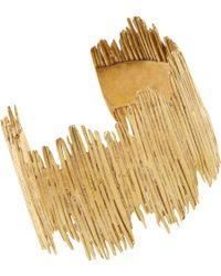 K/ller Collection - Brass Quill Matchstick Cuff - Lyst