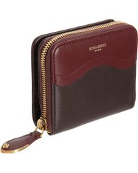 Nina Ricci - Twotone Compact Zip Wallet - Lyst