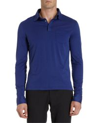 Ralph Lauren Black Label - Long Sleeve Polo - Lyst
