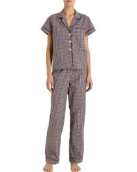 Steven Alan - Cropped Pyjama Top - Lyst