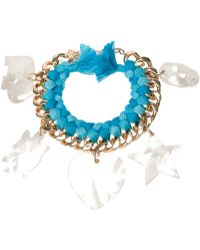 Aurelie Bidermann 'Do Brasil' Charms Bracelet - Lyst