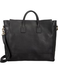 Barneys New York B Zip-top Tote - Lyst