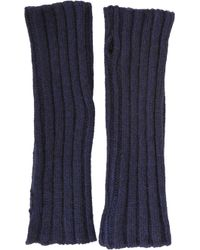Barneys New York Chunkyknit Arm Warmers - Lyst