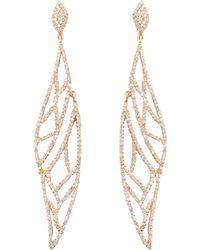 Maiyet - Pave Diamond Amazon Journey Earrings - Lyst