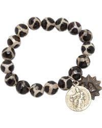 Miracle Icons - Animal Print Icon Bracelet - Lyst
