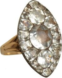 Olivia Collings - Paste Marquis Ring - Lyst