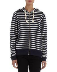 Petit Bateau - Sailor Striped Hoody - Lyst