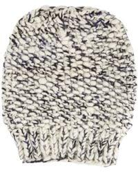 The Elder Statesman Chunky Knit Ski Cap - Lyst