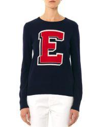 Equipment Shane Collegiate Sweater - Lyst
