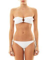 Melissa Odabash Greece Broderie Anglaise Bikini - Lyst