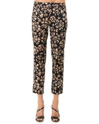 Thakoon Addition Jewelprint Straightleg Trousers - Lyst