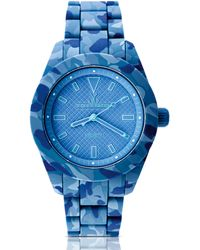 Toy Watch - Velvety Camo Silicone Watch Blue - Lyst