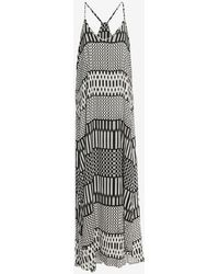 Felicite - Printed Maxi Dress - Lyst