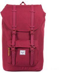 Herschel Supply Co. - Little America Rubber Backpack - Lyst