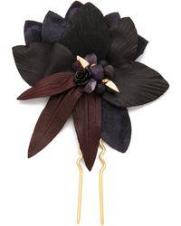 Lizzie Fortunato - Dark Petal Hair Pin - Lyst