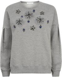 Matthew Williamson - Embroidered Sweatshirt - Lyst