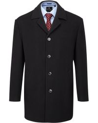 Skopes Grant Single Breasted Overcoat - Lyst